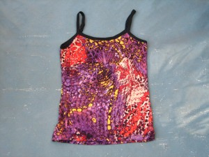 Damen-Unterhemd wildes Muster